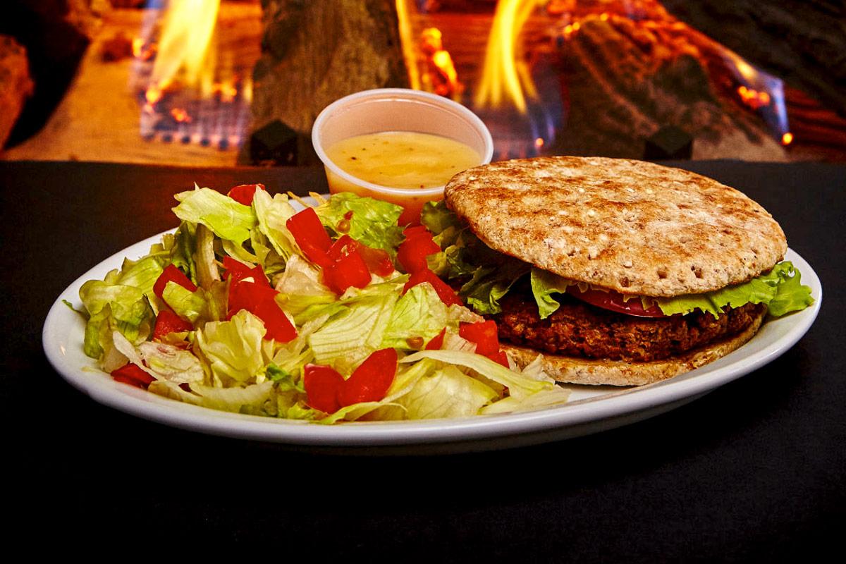 Burger végétarien maison