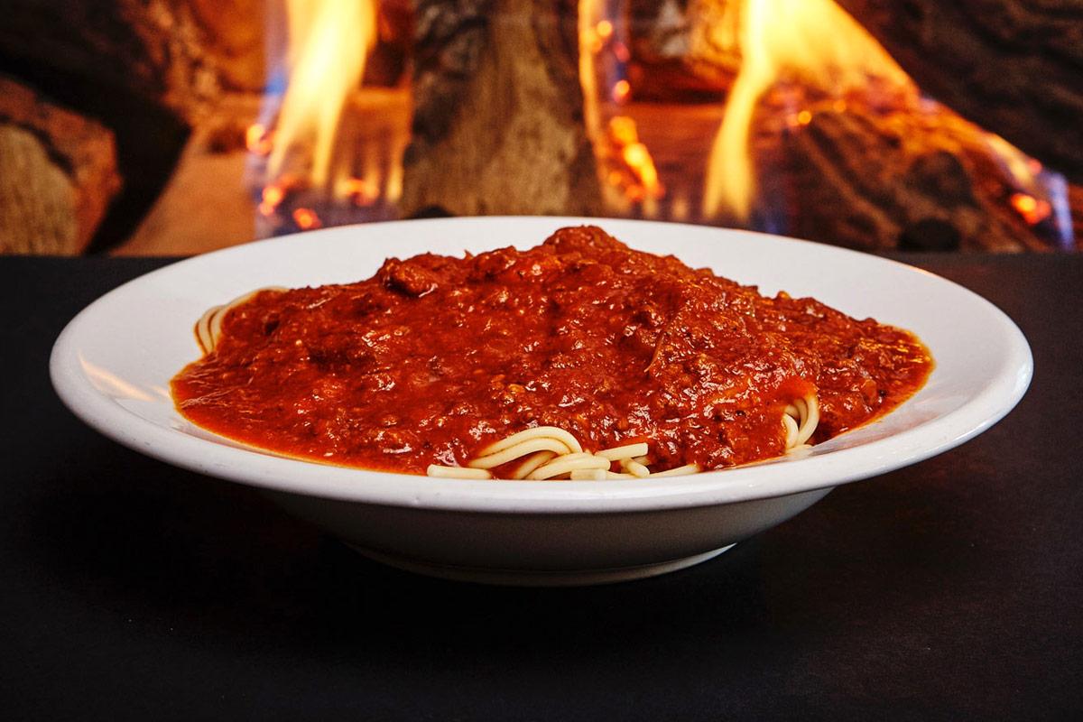 Spaghettis sauce à la viande