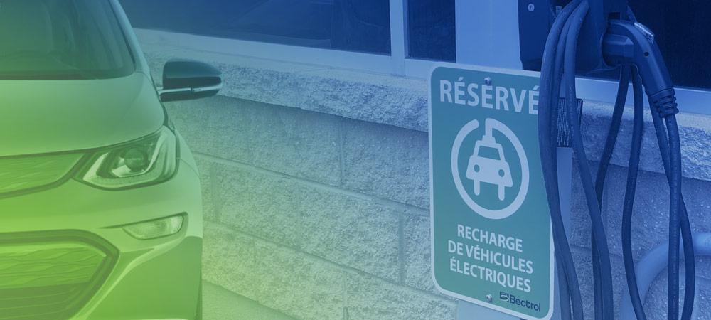 Virage vert - Borne pour voiture électrique